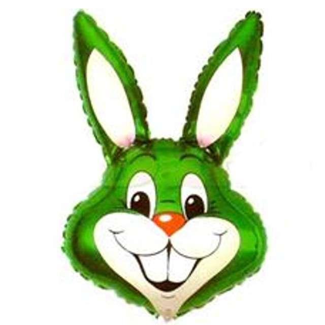 """Balon foliowy 14"""" Rabbit - Królik zielony"""