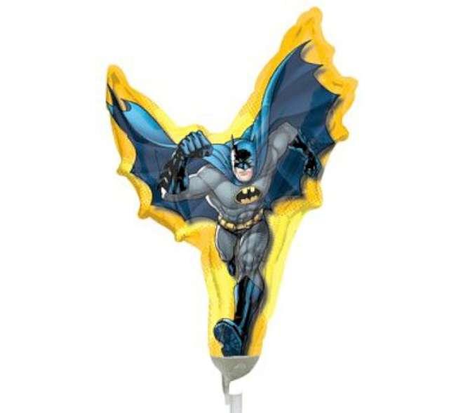 """Balon foliowy """"Batman"""", AMSCAN, 9"""" SHP"""