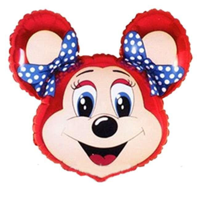 """Balon foliowy """"Babsy Mouse"""", czerwony, FLEXMETAL, 14"""" SHP"""