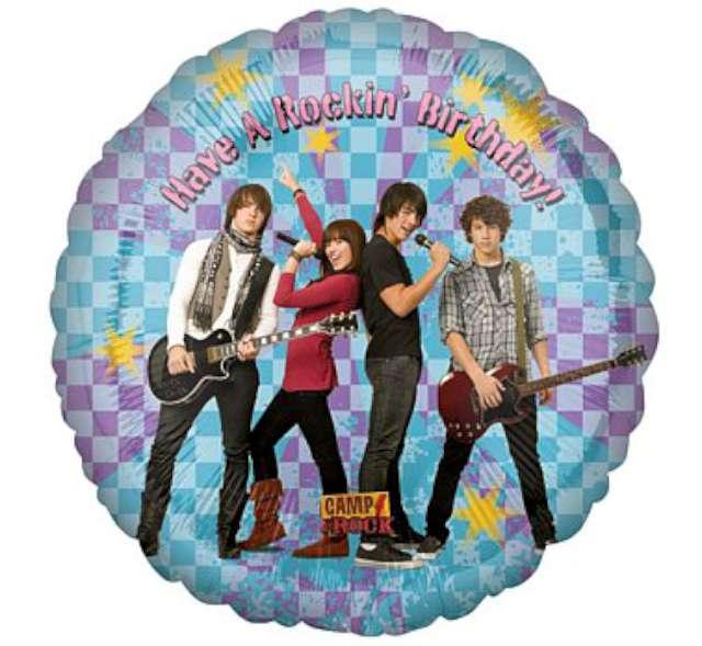 "Balon foliowy 18"" Camp Rock Rockin BDAY"