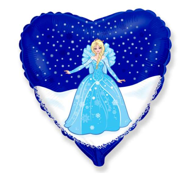 """Balon foliowy 18"""" Kraina lodu: Elsa"""