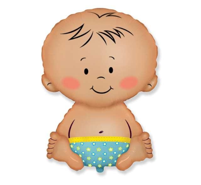 Balon foliowy Bobas Chłopiec FLEXMETAL 14