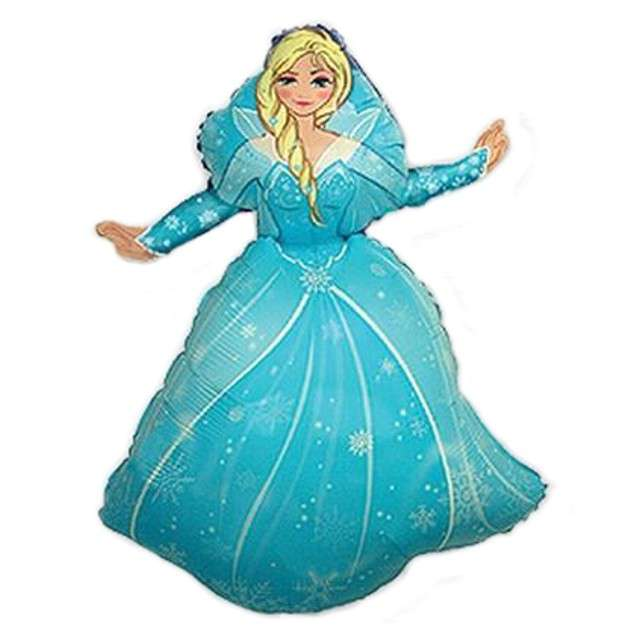 "Balon foliowy 14"" Kraina lodu: Princess Elza"