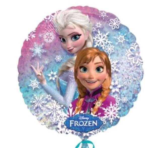 "Balon foliowy 18"" Anna i Elsa"