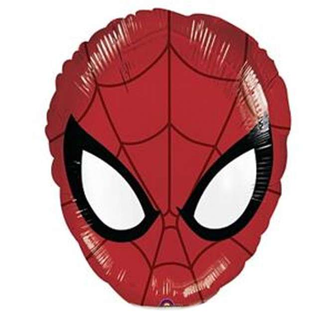 "Balon foliowy ""Spider-Man head"", AMSCAN, 14"" SHP"