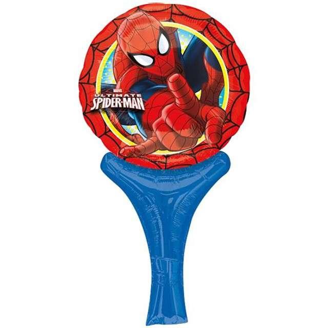 """Balon foliowy 14"""" z rączką Spider Man"""