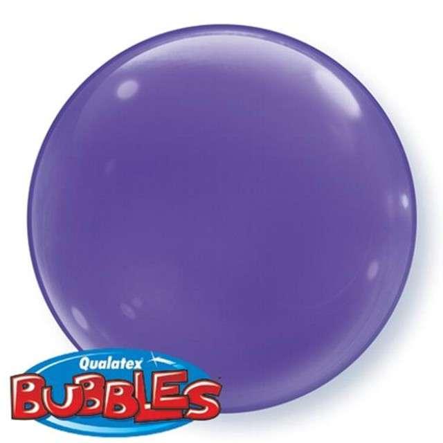 """Balon foliowy 15"""" kula fioletowa, 4 szt"""
