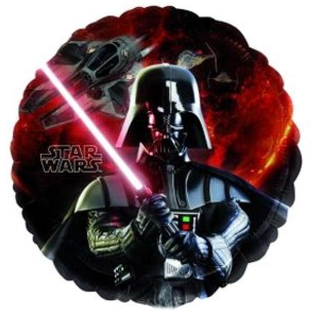 "Balon foliowy ""Star Wars"", AMSCAN, 18"" RND"