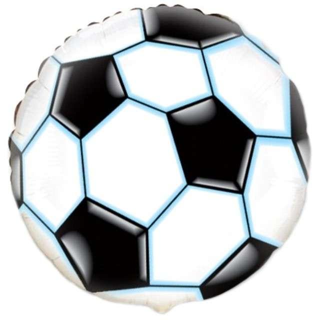 """Balon foliowy 18"""" - """"Piłka nożna"""" - okrągły"""