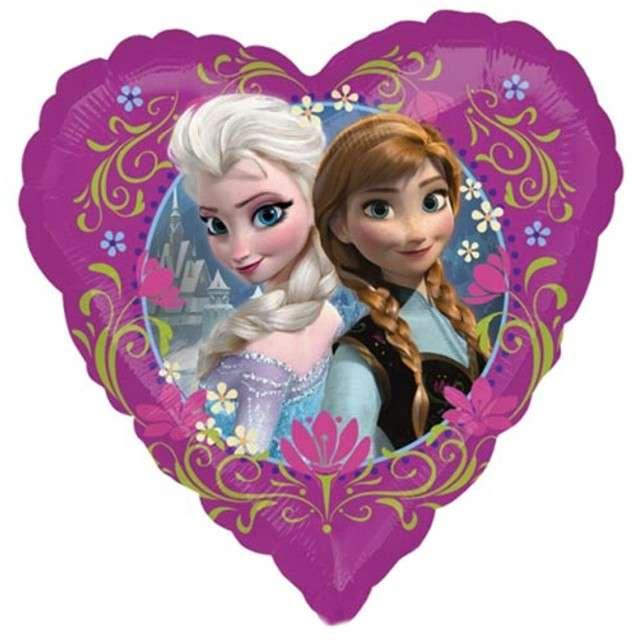 """Balon foliowy """"Frozen"""", AMSCAN, 18"""" HRT"""