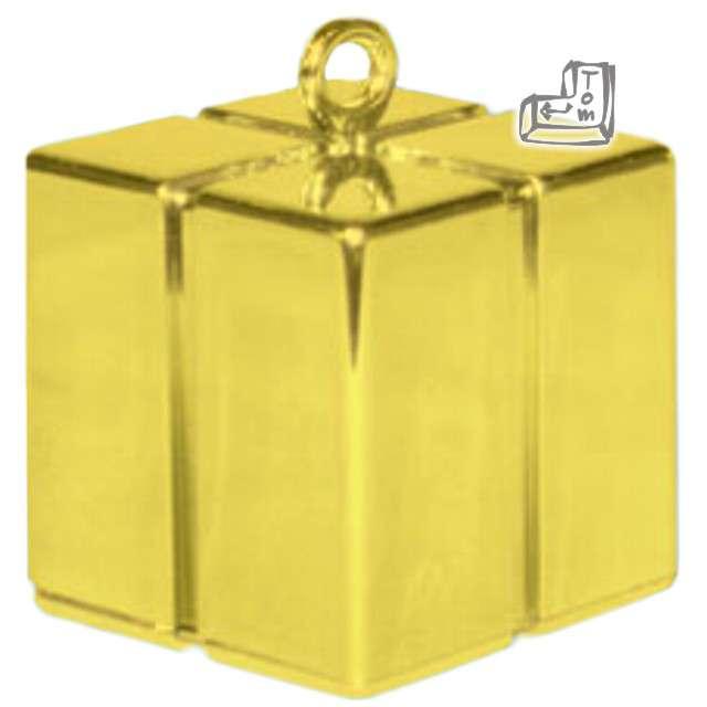 Obciążnik do balonów, prezent, złoty