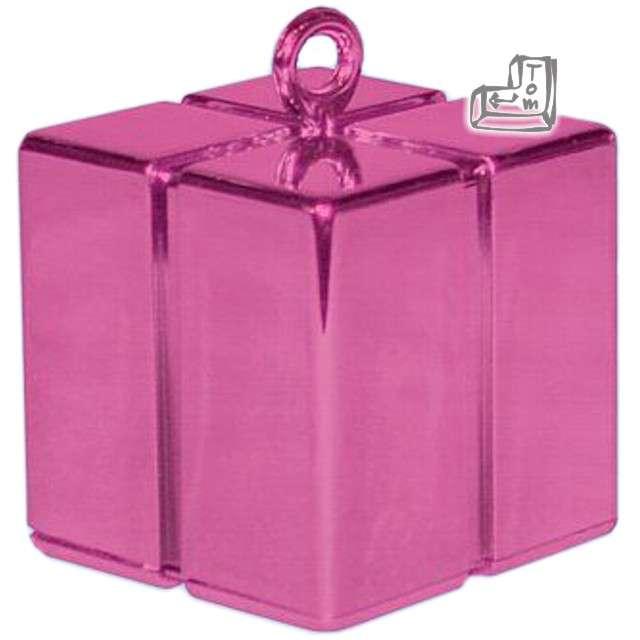 Obciążnik do balonów, prezent, różowy ciemny