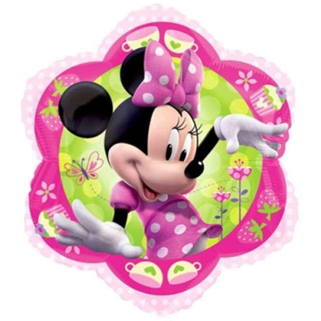 "Balon foliowy ""Minnie Mouse"", AMSCAN, 18"" SHP"