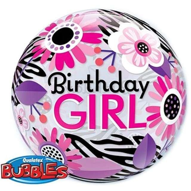 "Balon foliowy 22"" - ""Birthday Girl"""