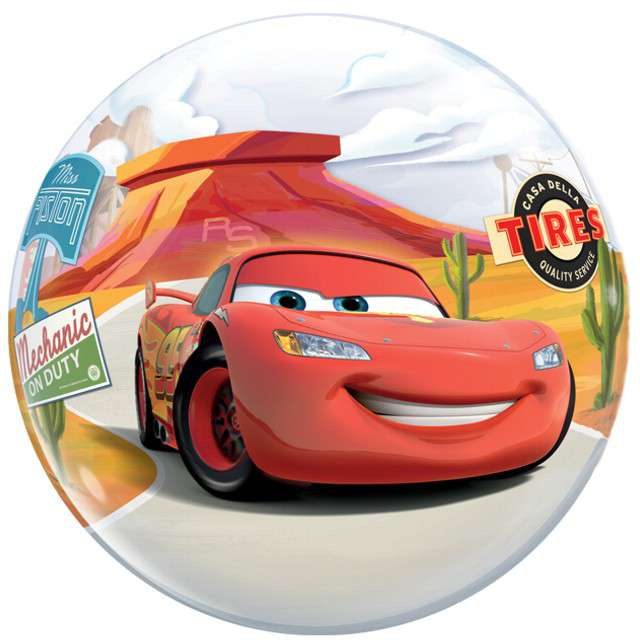 "Balon foliowy 22"" - ""Auta - McQueen"""