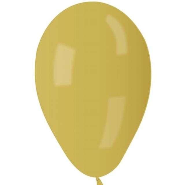 """Balony 8"""" Metalik GEMAR Żółte 100 szt"""