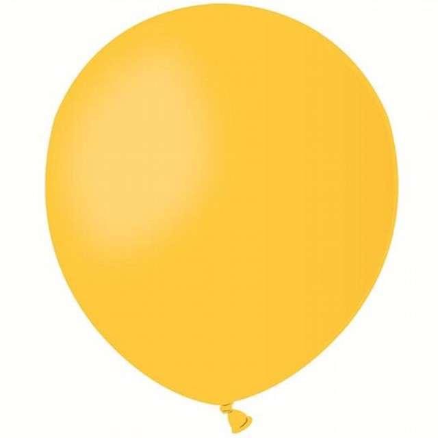 "Balony 5"" Pastel GEMAR Yellow 100 szt"