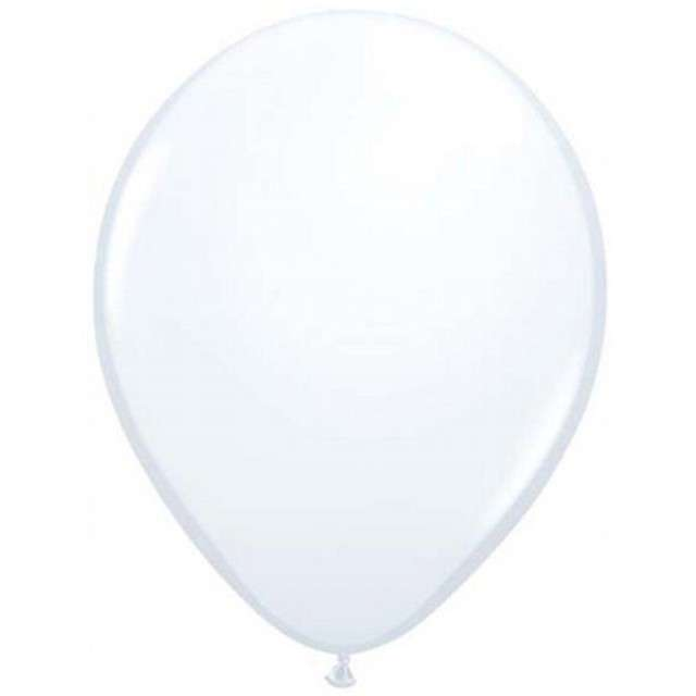 "Balony 5"" Pastel QUALATEX White 100 szt"
