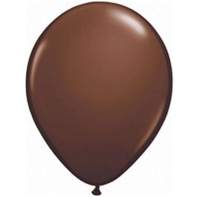"Balony 5"" Pastel QUALATEX Chocolate Brown 100 szt"