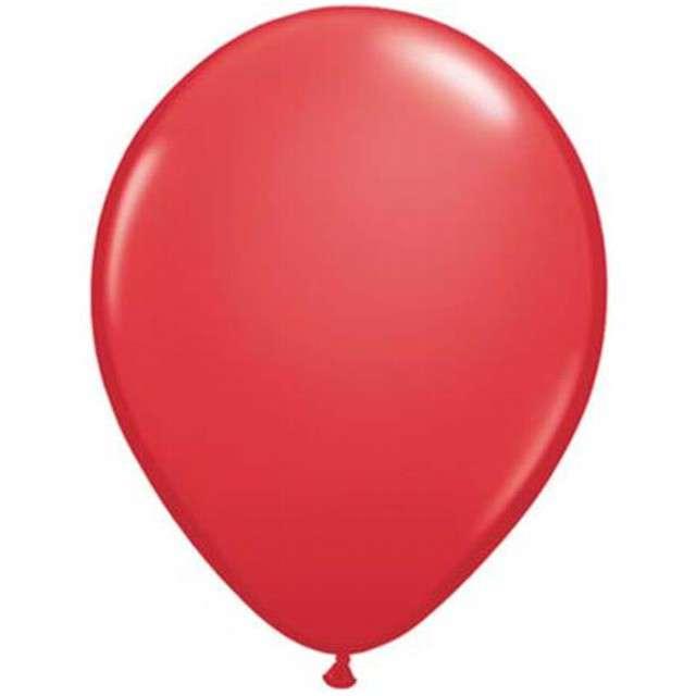 "Balony 5"" Pastel QUALATEX Red 100 szt"