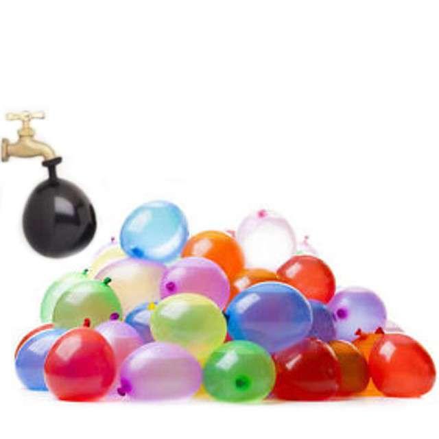 """Balony 3"""" pastel mix """"Bomby Wodne"""" 100 szt"""