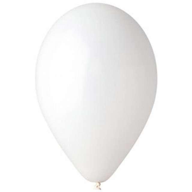 "Balony 10"" Pastel GEMAR White 100 szt"
