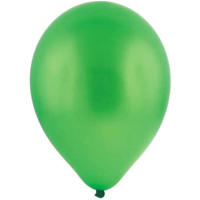 "Balony 12"" Metalik BRO zielone 100 szt"