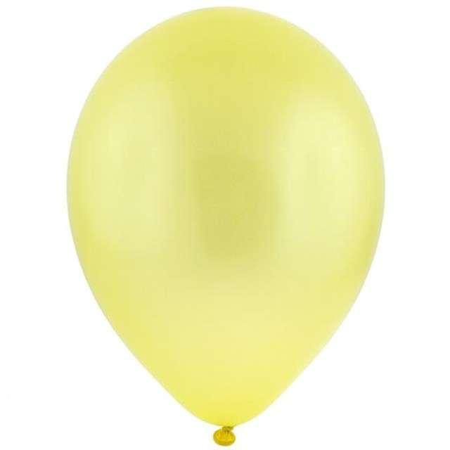 """Balony 12"""" Metalik BRO żółte 100 szt"""