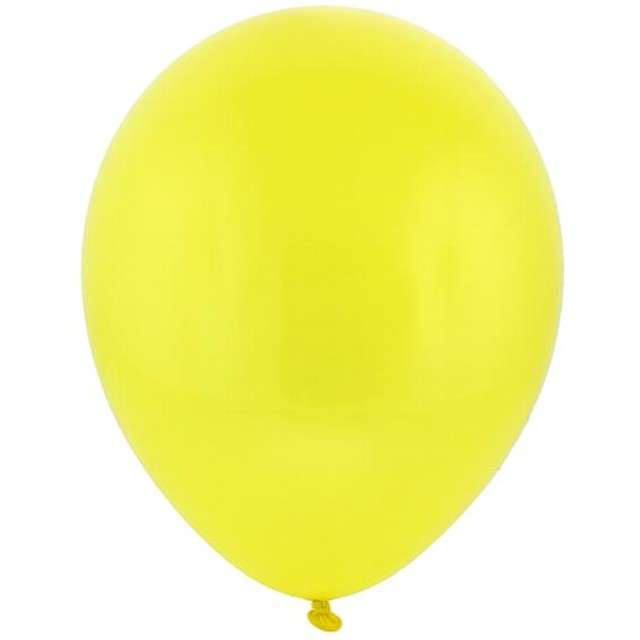 "Balony 12"" Pastel BRO Yellow 100 szt"