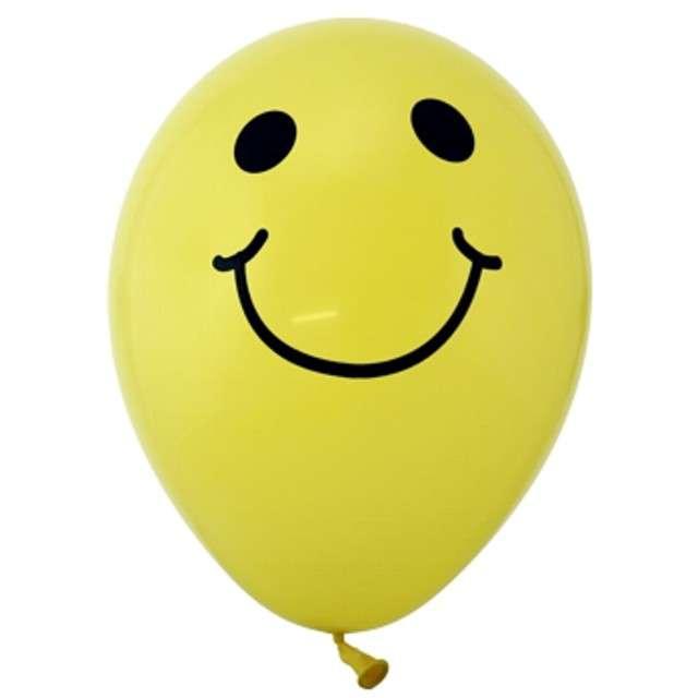 """Balony 12"""", """"Uśmiech"""", 50 szt"""