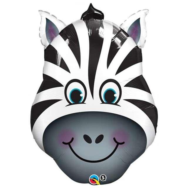 """Balon foliowy 32"""" - """"Zebra"""""""