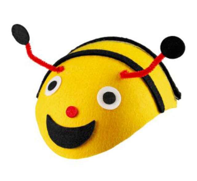"""Czapka """"Pszczółka"""", filcowa, KRASZEK"""