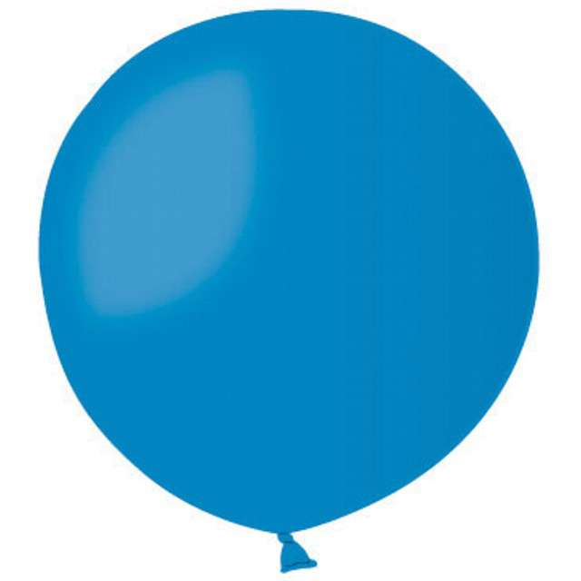 Balon olbrzym 85 cm GEMAR G220, niebieski, 1 szt