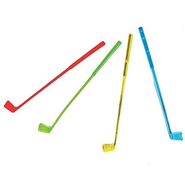 Mieszadełka Kij golfowy 20 cm 10 szt