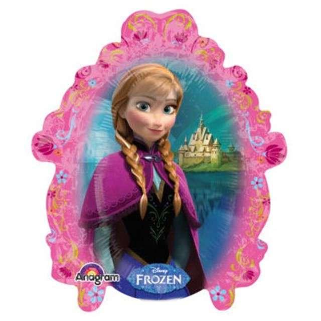"""Balon foliowy """"Frozen"""", AMSCAN, 14"""" SHP"""