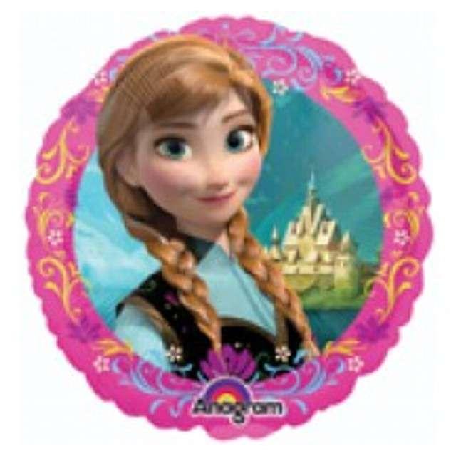 """Balon foliowy """"Frozen"""", AMSCAN, 9"""" RND"""