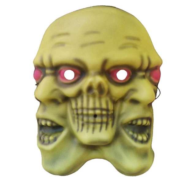 """Maska """"Potwór o trzech twarzach"""", pianka 3D"""