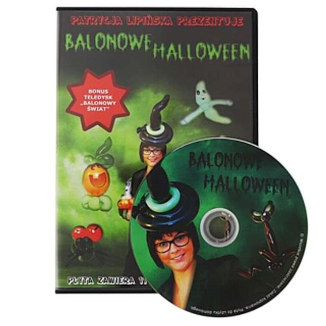 "Płyta DVD ""Balonowe Halloween"""