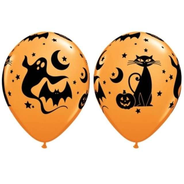 """Balony 11"""", """"Halloweenowe postacie"""", 25 szt"""
