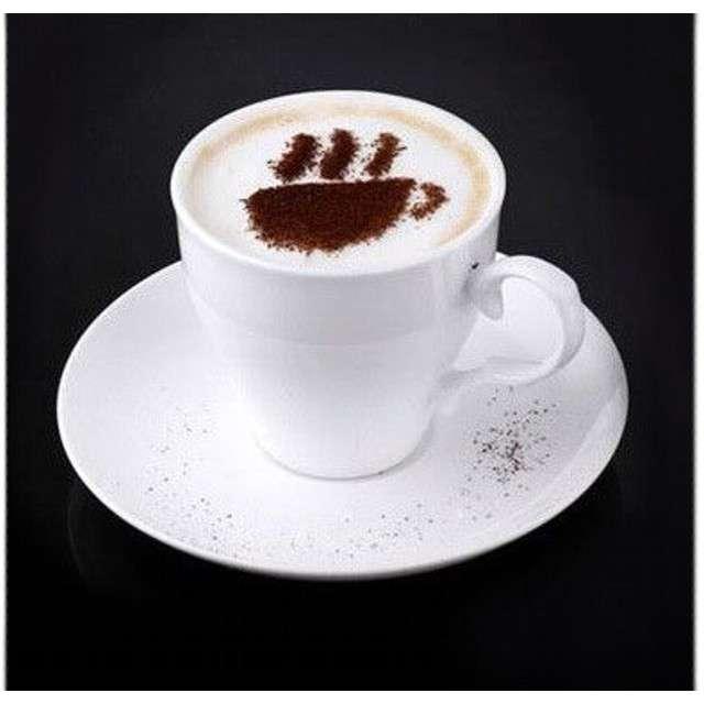 Szablony do kawy 16 szt.