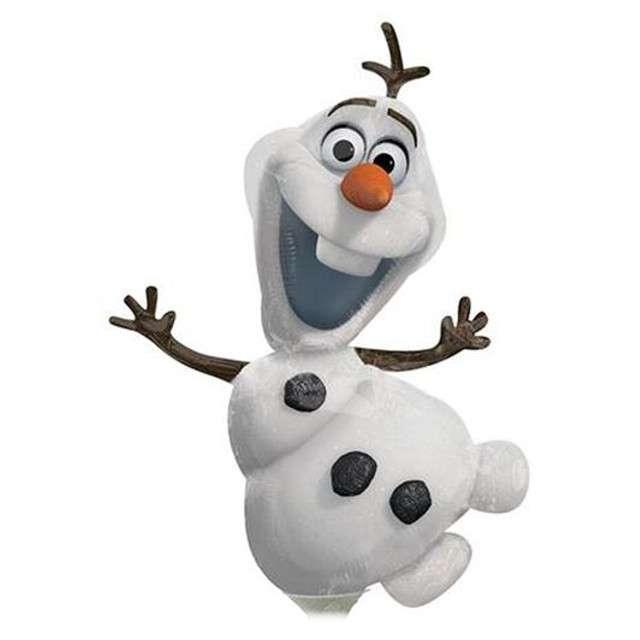 """Balon foliowy """"Frozen Olaf"""", AMSCAN, 14"""" SHP"""