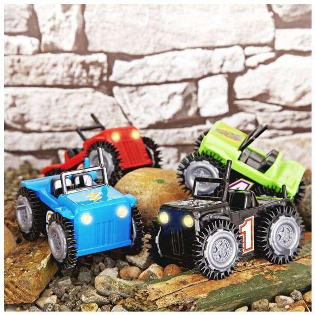 Zabawka Samochodzik Micro Flip zielony Nova Net