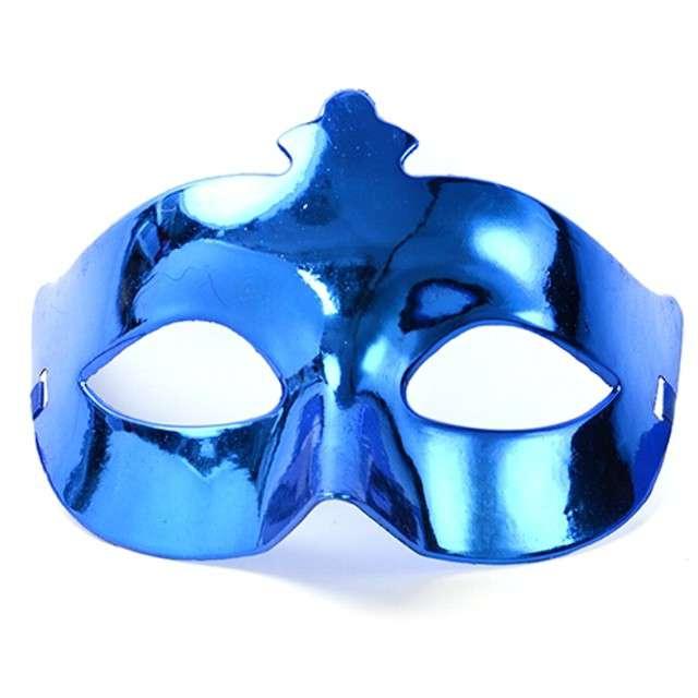 Maska karnawałowa, niebieska
