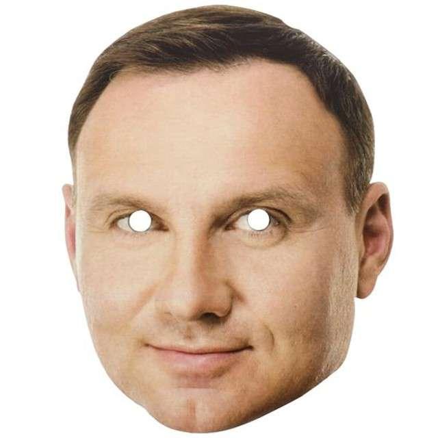 """Maska """"Andrzej Duda"""", papierowa"""