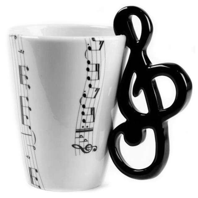 """Kubek """"Muzyczna przygoda - klucz wiolinowy"""", 250 ml, GM"""