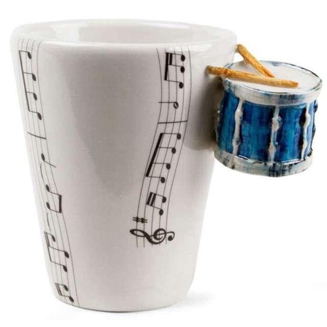 """Kubek """"Muzyczna przygoda - perkusja niebieska"""", 250 ml, GM"""