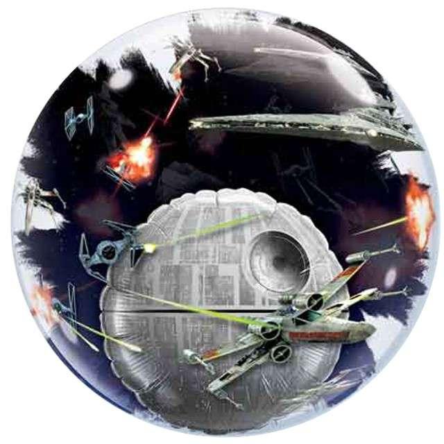 """Balon foliowy 24"""", """"Star Wars"""", Death Star"""