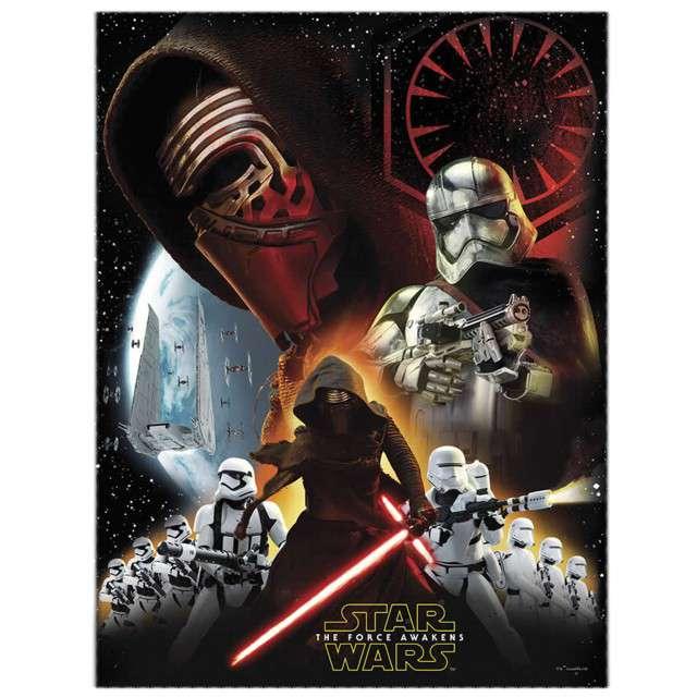 "Obrus foliowy ""Star Wars"" The Force Awaknes, 120 x 180 cm"