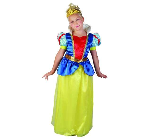 """Strój dla dzieci """"Królewna żółto niebieska"""", rozm. 120/130"""