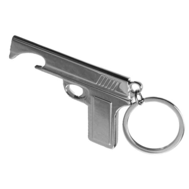 """Otwieracz """"Pistolet"""" z brelczkiem"""